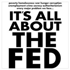 The Fed Wall Art Poster