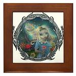 Alice in Wonderland Framed Tile