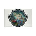 Alice in Wonderland Rectangle Magnet (100 pack)