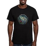 Alice in Wonderland Men's Fitted T-Shirt (dark)