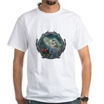 Alice in Wonderland White T-Shirt