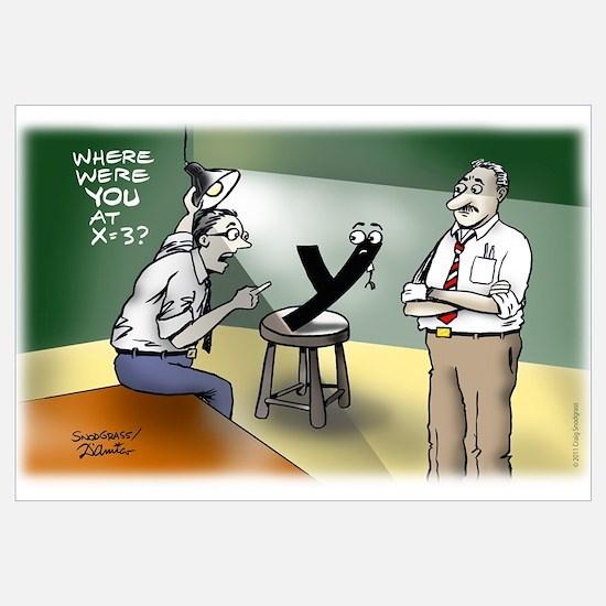 Interrogation Wall Art