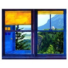 Window on the Gorge - Wall Art Poster