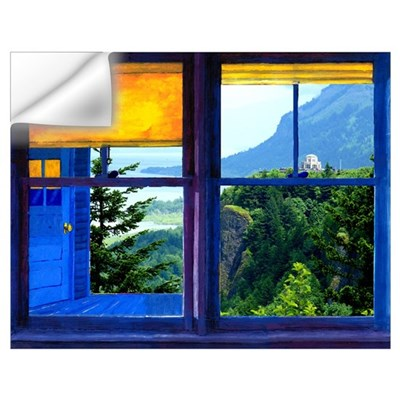 Window on the Gorge - Wall Art Wall Decal