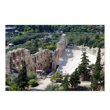 Herod Atticus theater Postcards (Package of 8)