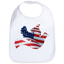 USA American Flag Freedom Dov Bib
