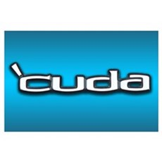 'CUDA Wall Art Poster