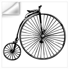 Antique Bicycle Wall Art Wall Decal