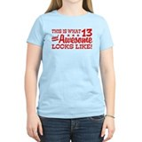 13 year old birthday Women's Light T-Shirt