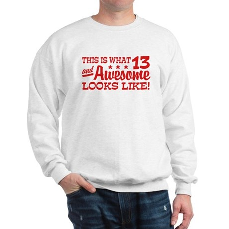 Funny Thirteen Year Old Sweatshirt