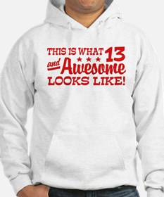 Funny Thirteen Year Old Hoodie