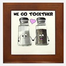 We belong together Framed Tile