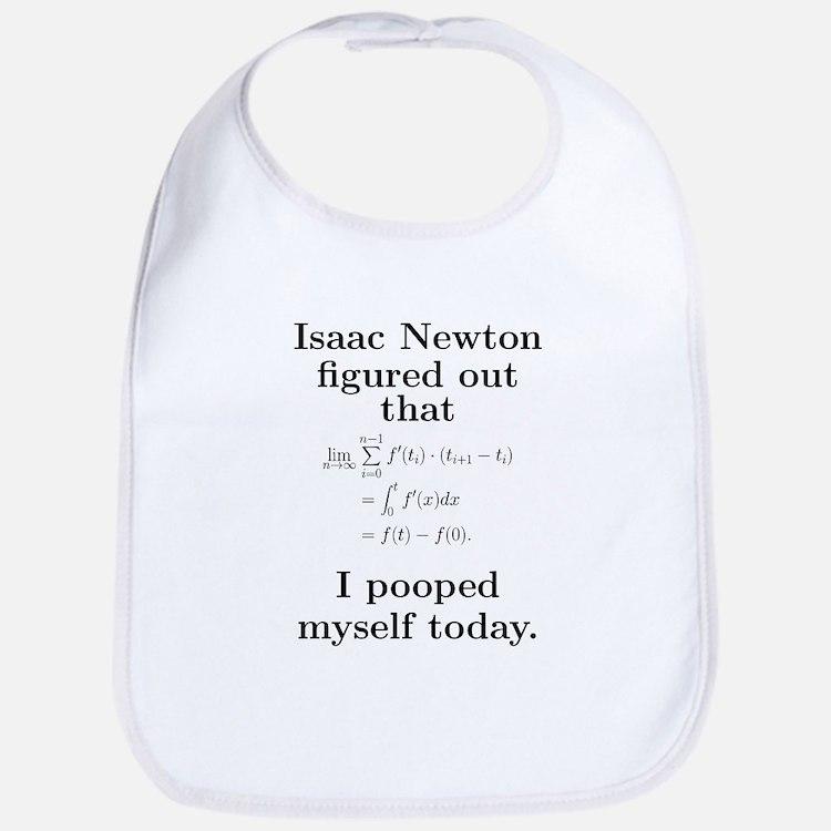 Cute Newton Bib