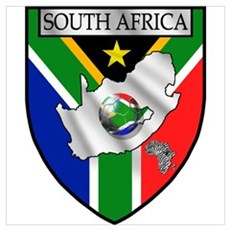 South Africa Soccer Wall Art Canvas Art