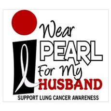 I Wear Pearl For My Husband 9 Wall Art Poster