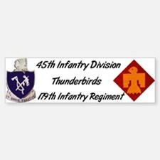 Bumper Sticker w/ 179th Crest