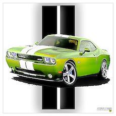 New Challenger Green Wall Art Poster