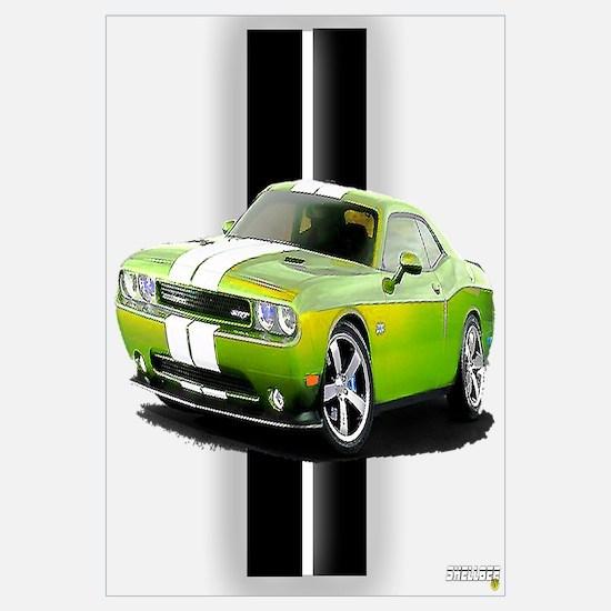 Dodge Challenger Wall Art Cafepress