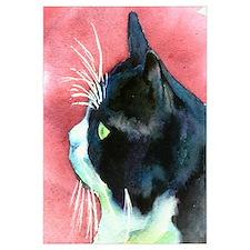 Tuxedo Cat Wall Art
