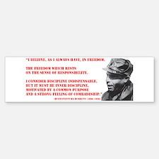 Durruti Freedom Bumper Bumper Sticker