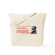 Durruti Freedom Tote Bag