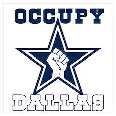 Occupy Dallas Wall Art Poster