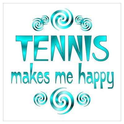 Tennis Wall Art Poster