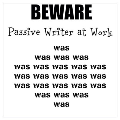 Passive Writer Wall Art Poster