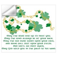 Irish Blessing Wall Art Wall Decal