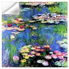 MONET WATERLILLIES Wall Art Wall Decal