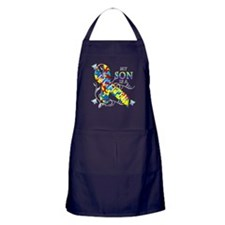 My Son is a Fighter Apron (dark)
