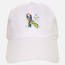 My Son is a Fighter Baseball Baseball Cap