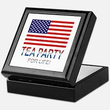Tea Party Keepsake Box
