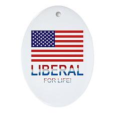 Liberal Ornament (Oval)