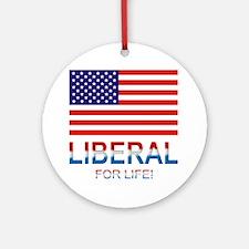 Liberal Ornament (Round)