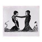 Faust 171 Throw Blanket