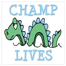 Champ Lives Wall Art Poster