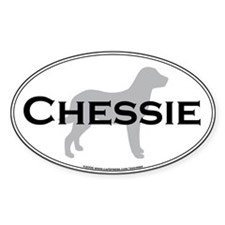 Chessie Oval Decal