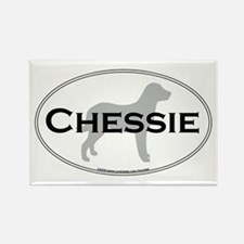 Chessie Rectangle Magnet