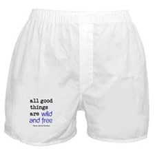 Wild and Free Boxer Shorts
