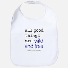 Wild and Free Bib