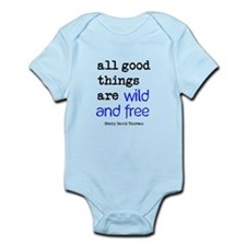 Wild and Free Infant Bodysuit