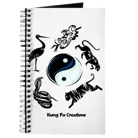 5 animal Kung Fu logo Journal