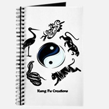 5 animal Kung Fu logo Journal