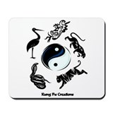 Kung fu Mouse Pads