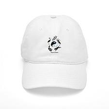 5 animal Kung Fu logo Baseball Cap