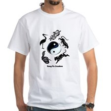 5 animal Kung Fu logo Shirt