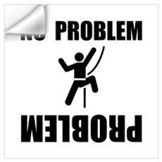 Climbing Problem Wall Art Wall Decal