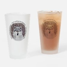 Timeless Wisdom Drinking Glass