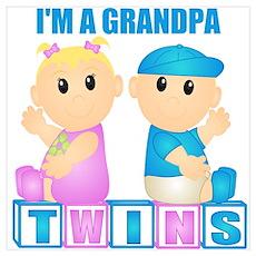 I'm A Grandpa (BBG:blk) Wall Art Poster
